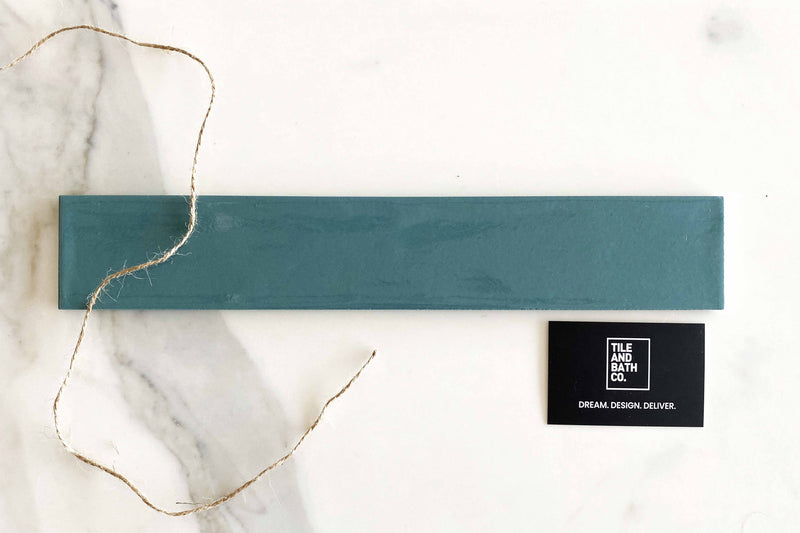 Ocean Green Russell Subway Tile