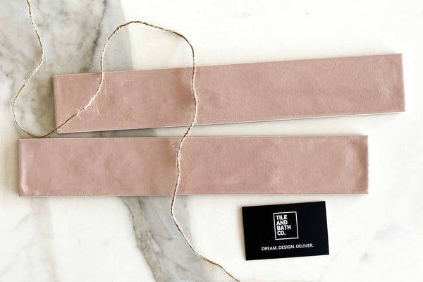 Pink Lemonade Russell Subway Tile