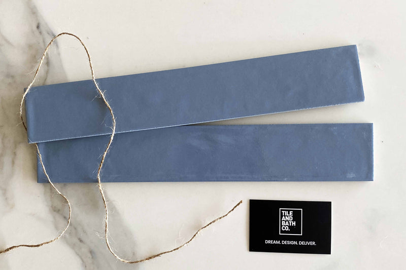 Cerulean Blue Russell Subway Tile