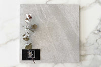 Ivory Rock Salt Stone Look Tile