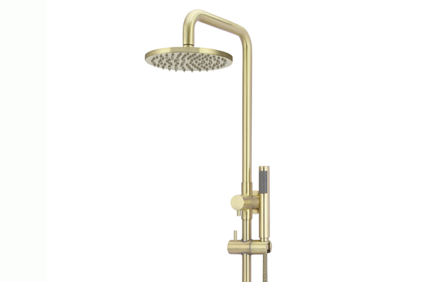 Tiger Bronze Shower Rail Combination