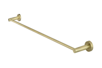 Tiger Bronze Round Single Towel Rail