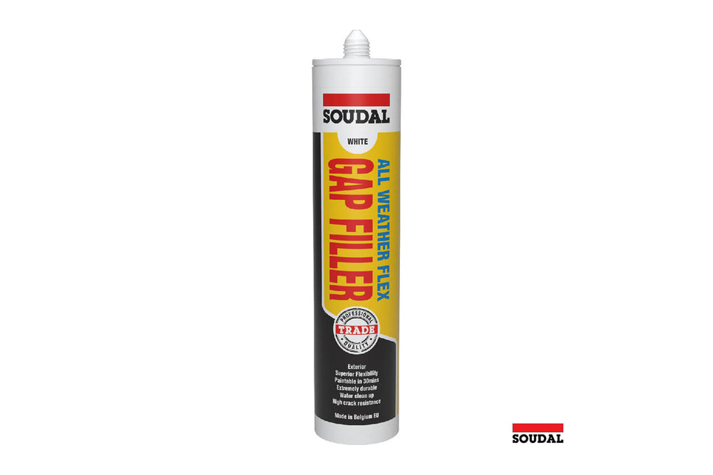 Soudal Gap Filler - All Weather Flex Carton of 12