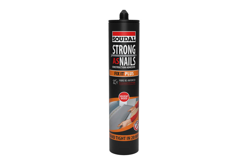 Soudal Strong As Nails - Fix It Plus - Carton of 12