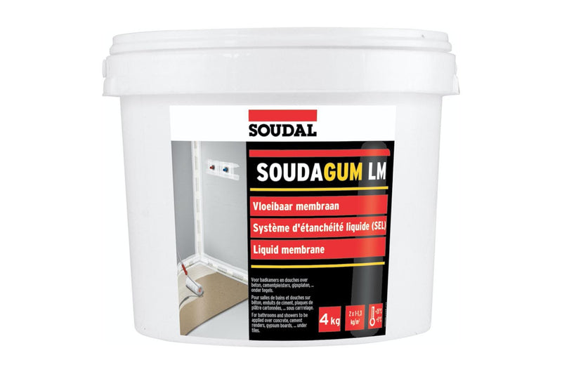 Soudagum LM - Liquid Membrane - Carton of 4