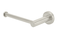 Brushed Nickel Round Toilet Roll Holder