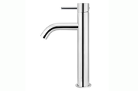 Polished Chrome Piccola Tall Basin Mixer Tap