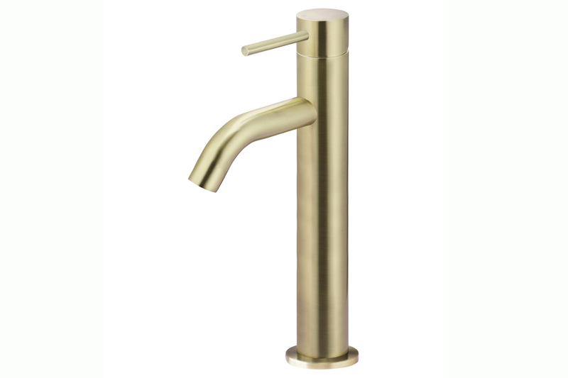 Tiger Bronze Piccola Tall Basin Mixer Tap