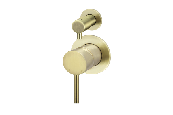 Tiger Bronze Wall Mixer Diverter