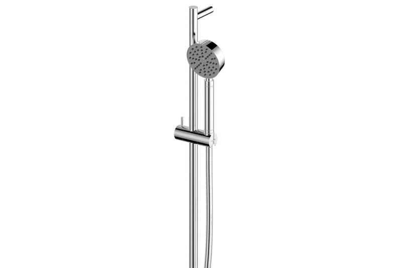 Chrome Textura & Gisele Rail Shower