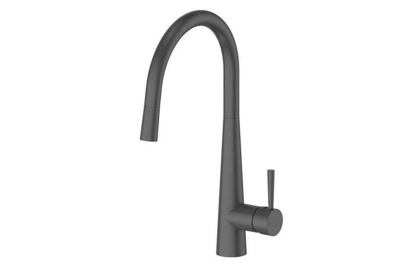 GUNMETAL GALIANO PULL-DOWN SINK MIXER