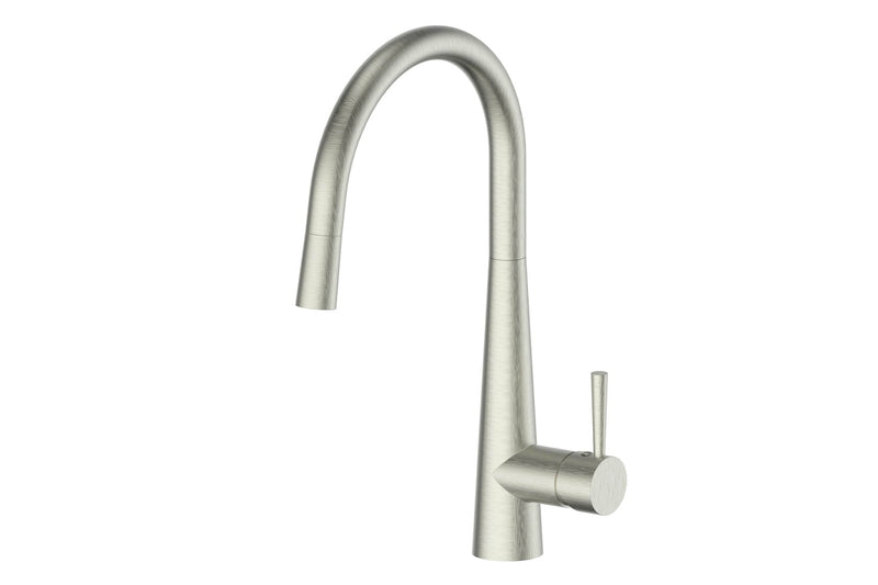 BRUSHED NICKEL GALIANO PULL-DOWN MIXER