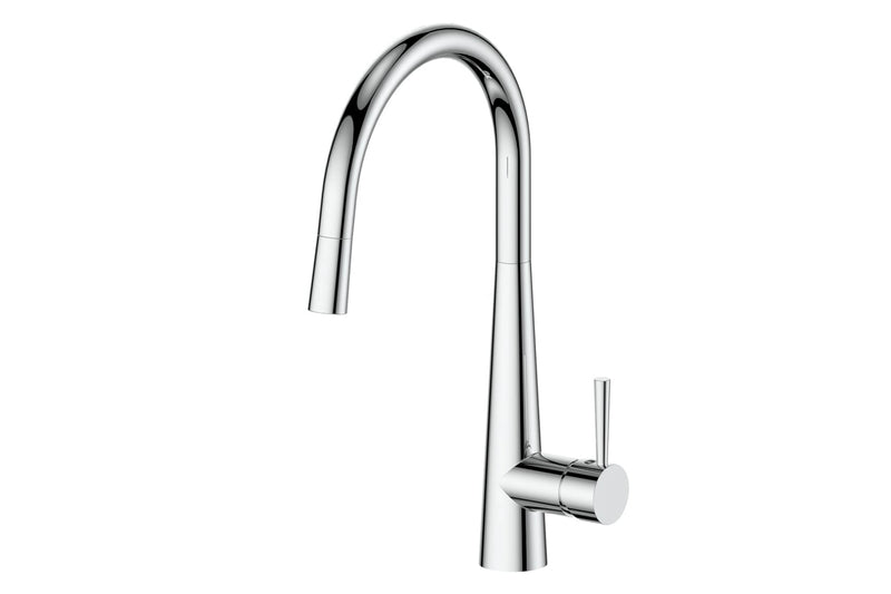 CHROME GALIANO PULL-DOWN SINK MIXER