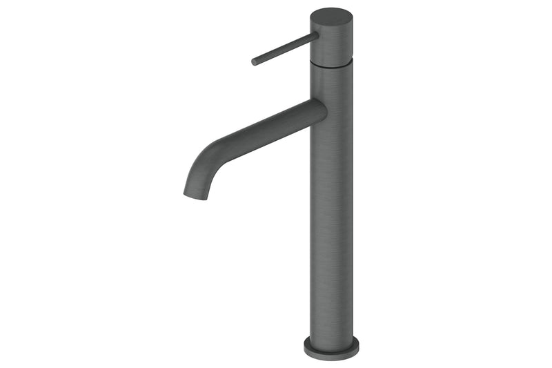 GUNMETAL GISELE TOWER BASIN MIXER