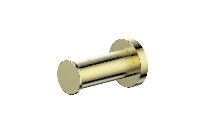 Brushed Brass Gisele Robe Hook