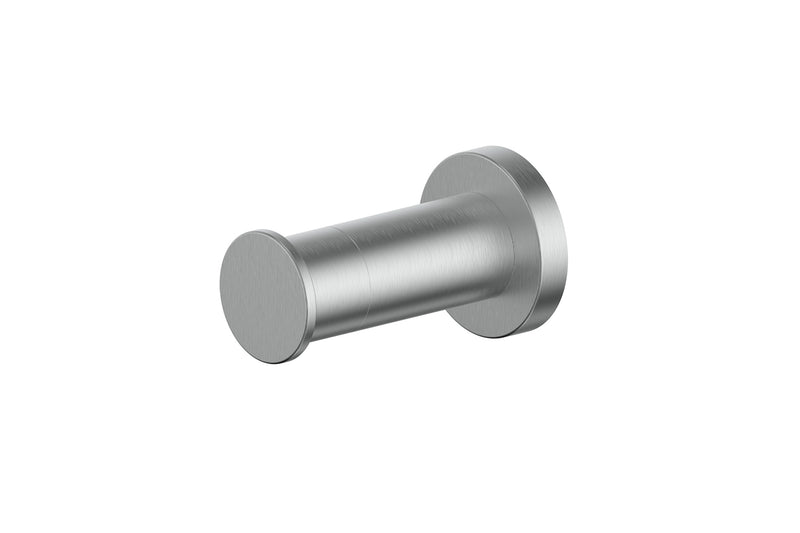 BRUSHED STAINLESS GISELE ROBE HOOK