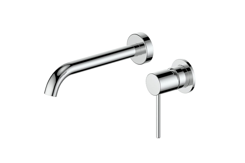 Chrome Gisele Wall Basin Mixer
