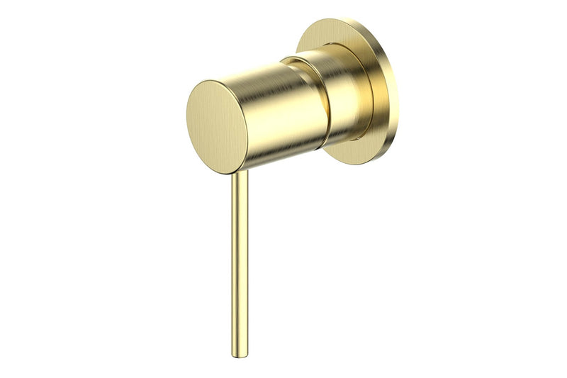 BRUSHED BRASS GISELE MIXER
