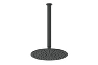 Matte Black Textura & Gisele Ceiling Shower Dropper