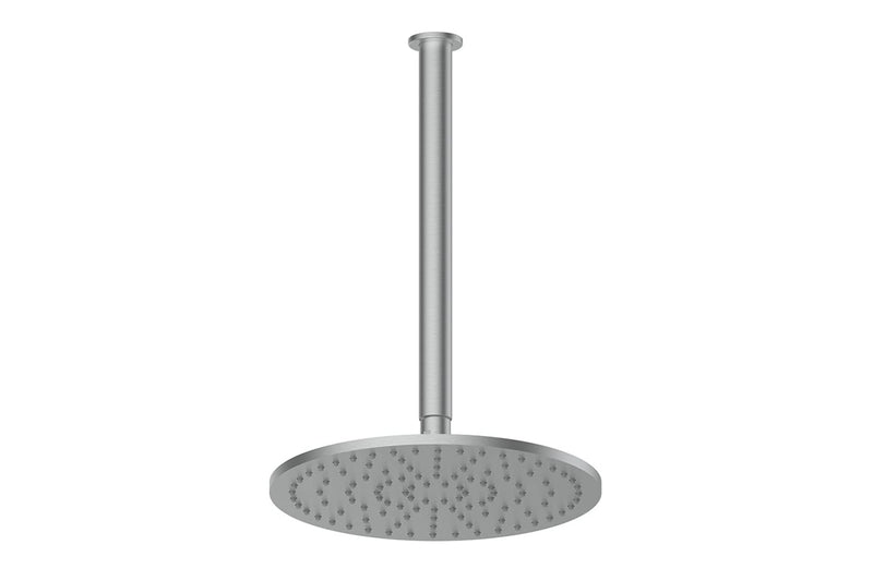 Brushed Stainless Textura & Gisele Ceiling Shower Dropper