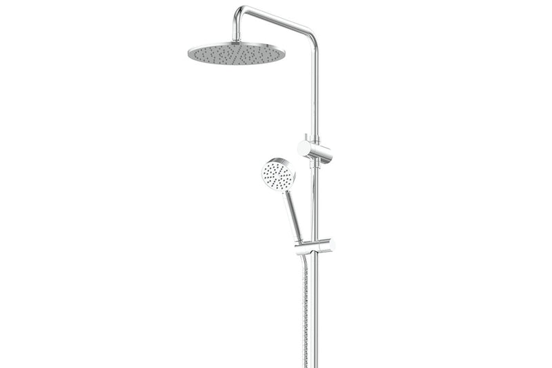 Chrome Gisele Twin Rail Shower