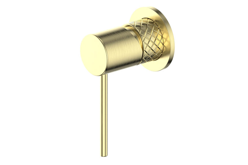 BRUSHED BRASS TEXTURA MIXER