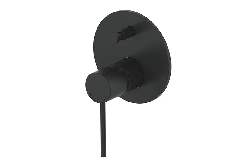 MATTE BLACK TEXTURA MIXER DIVERTER