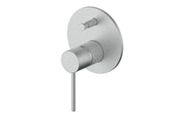 Brushed Stainless Textura Mixer Diverter