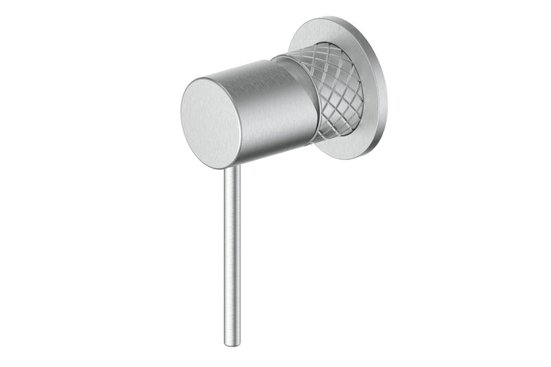 BRUSHED STAINLESS TEXTURA MIXER