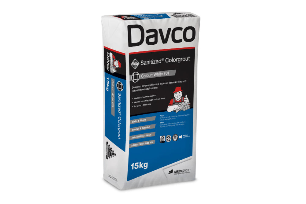 DAVCO SANITIZED COLOUR GROUT