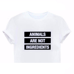 'Animals Are Not Ingredients' T-Shirt