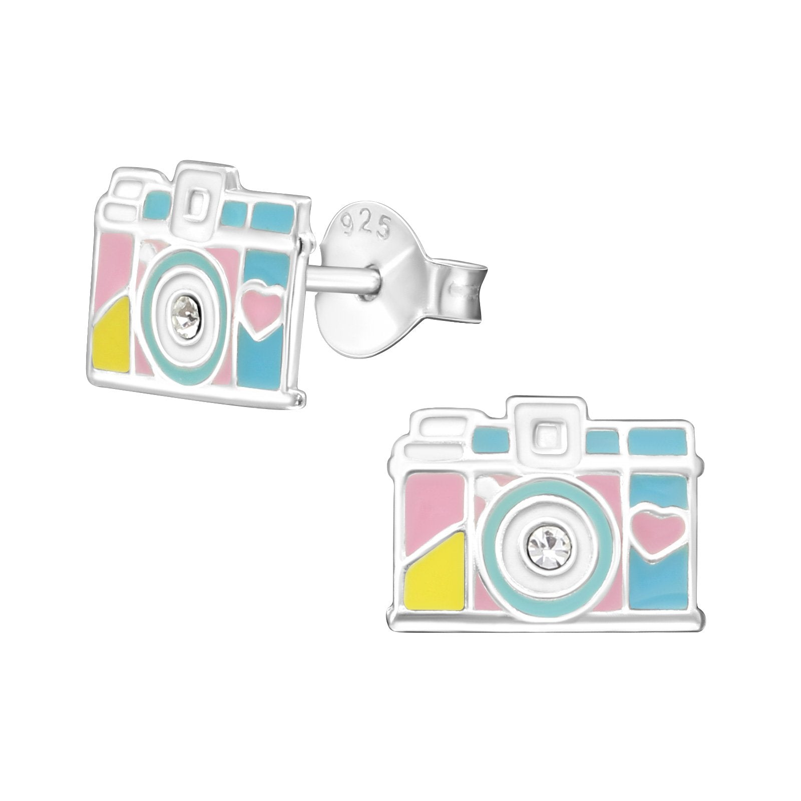 Pastel Camera Earring