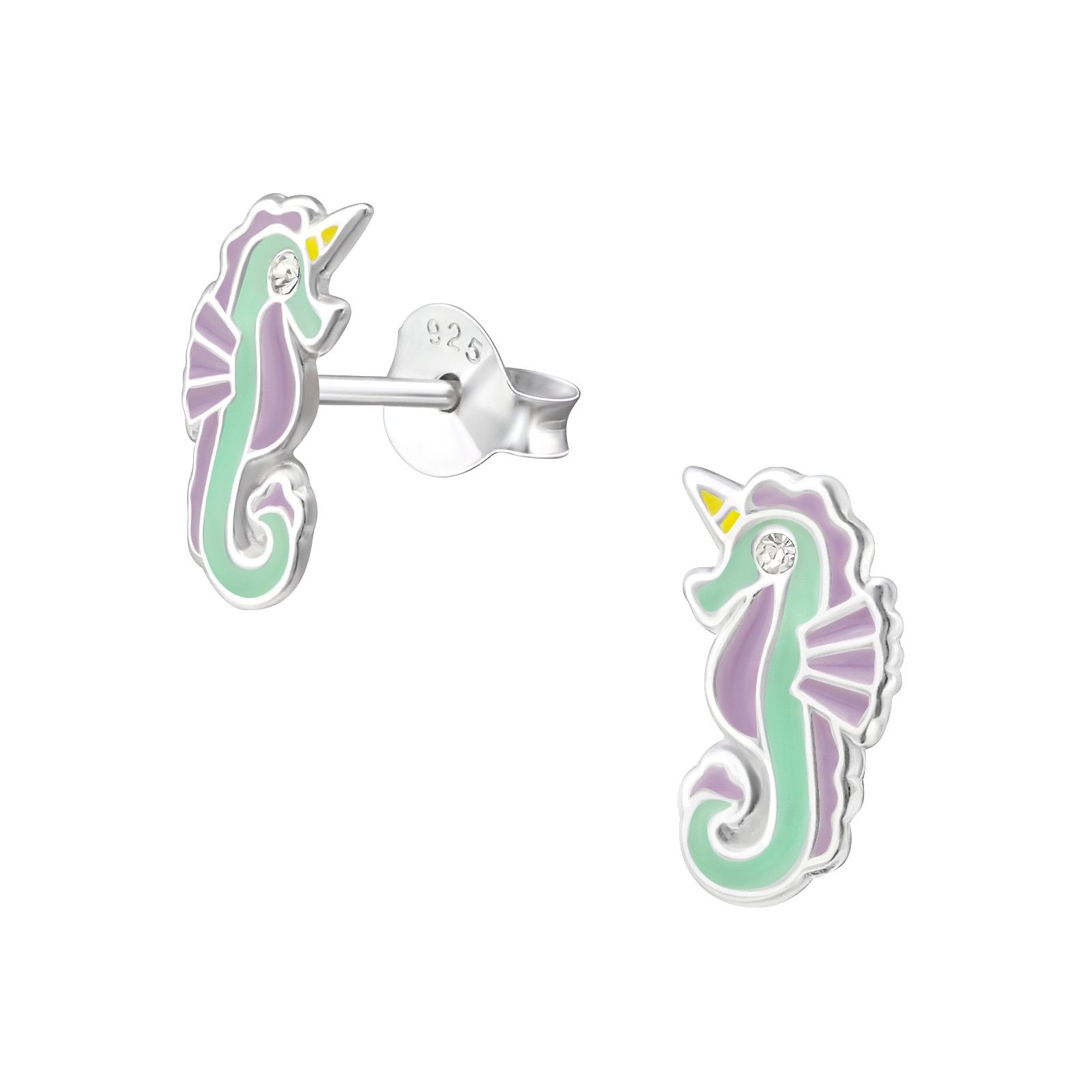 Sea Unicorn Earrings