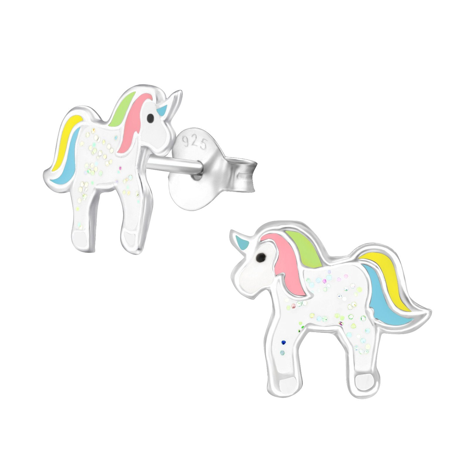 Pastel Unicorn Stud Earrings