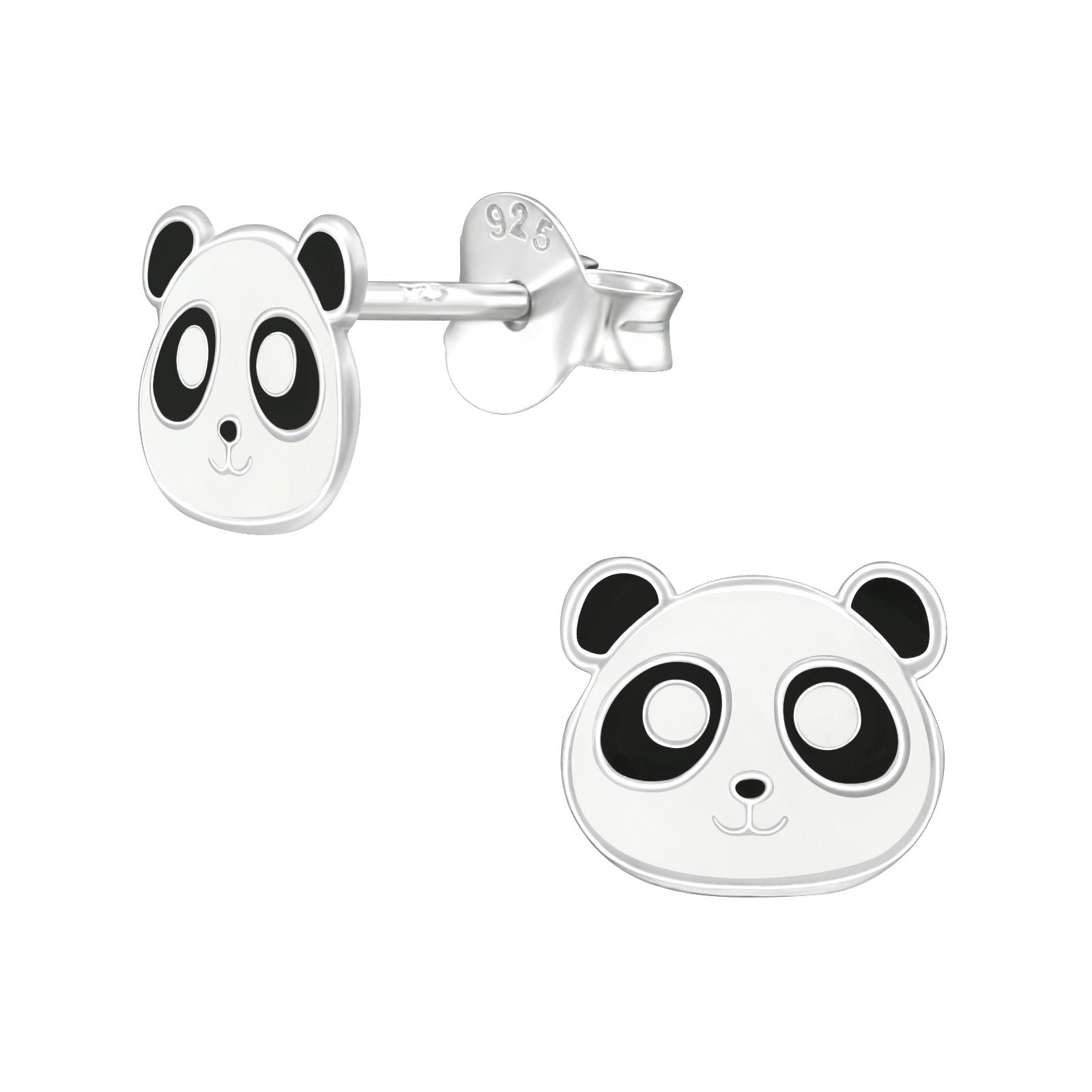 Panda Earrings