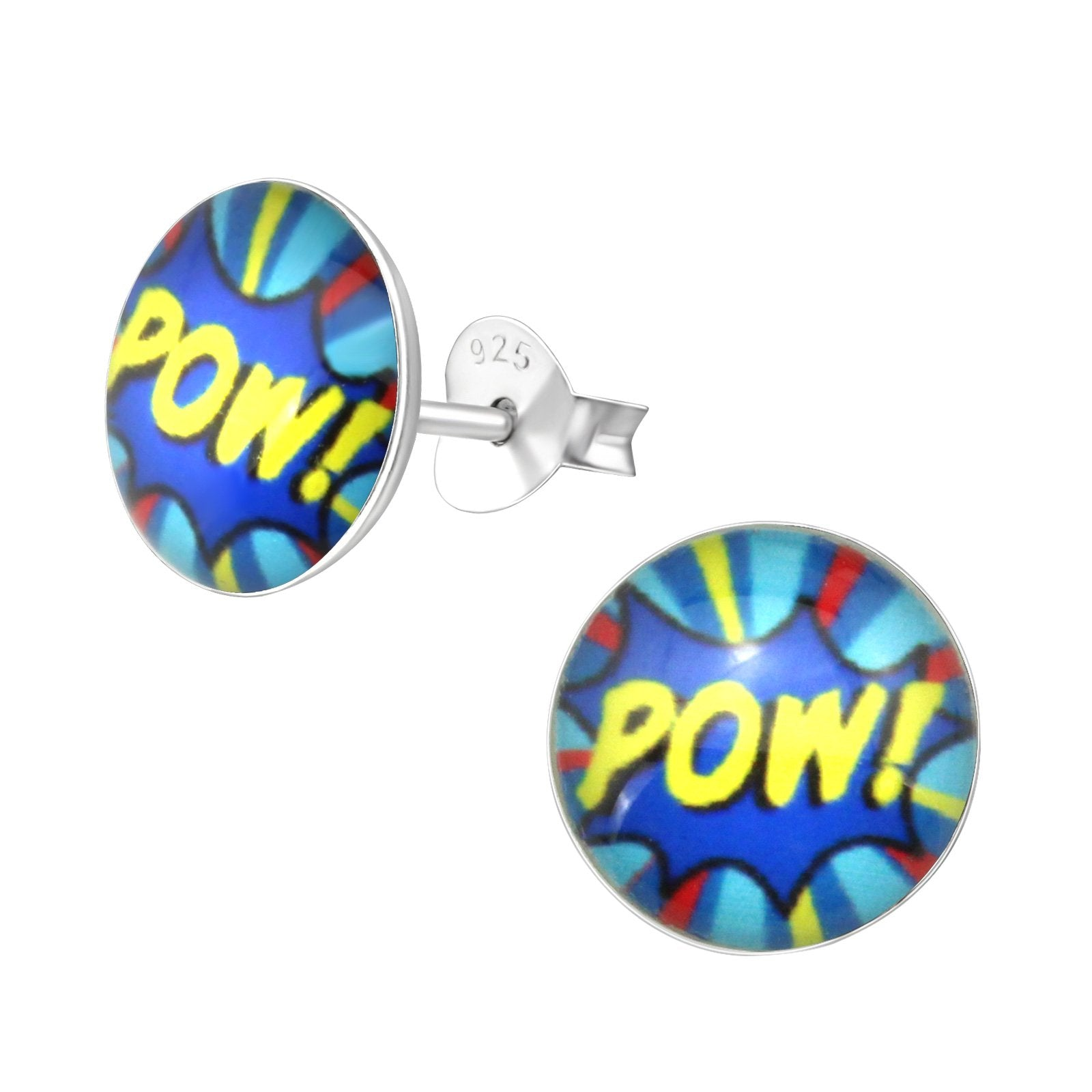 Pow Stud Earrings
