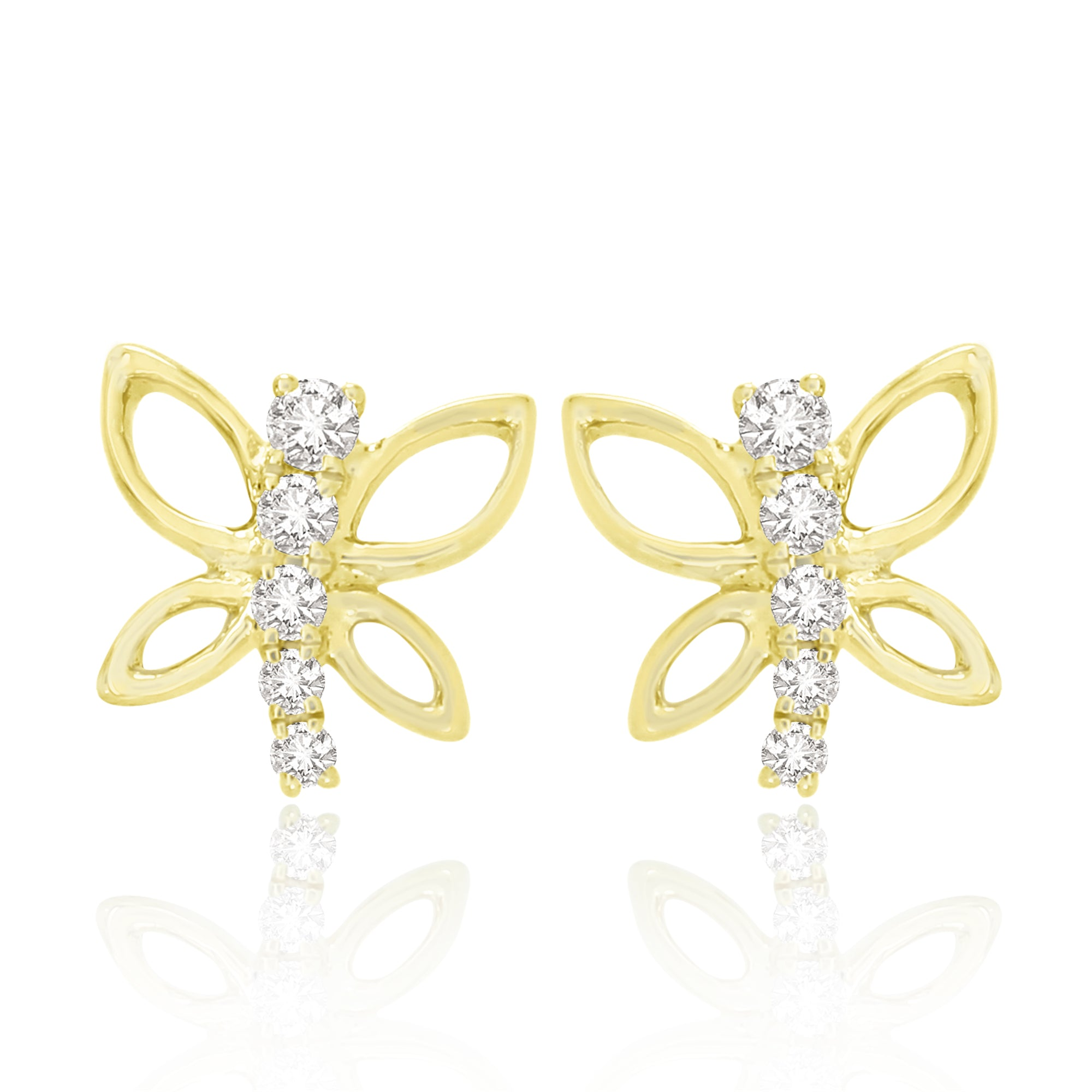 Sparkling Papillon Earrings