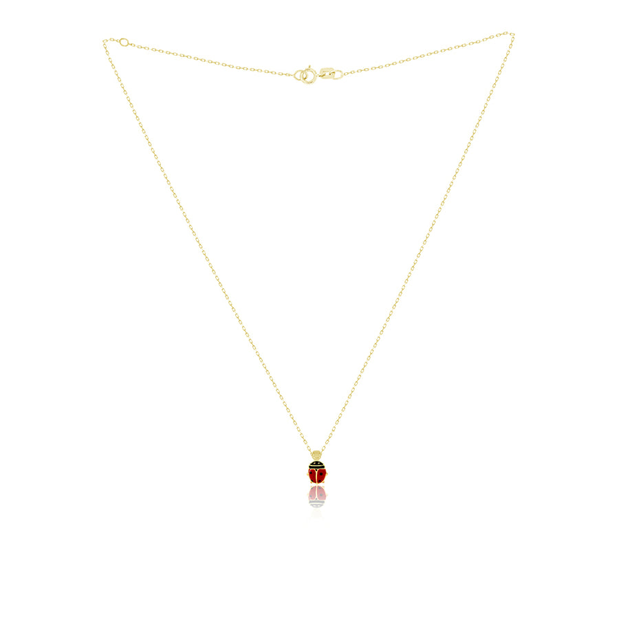 Lady Baby Bug Necklace