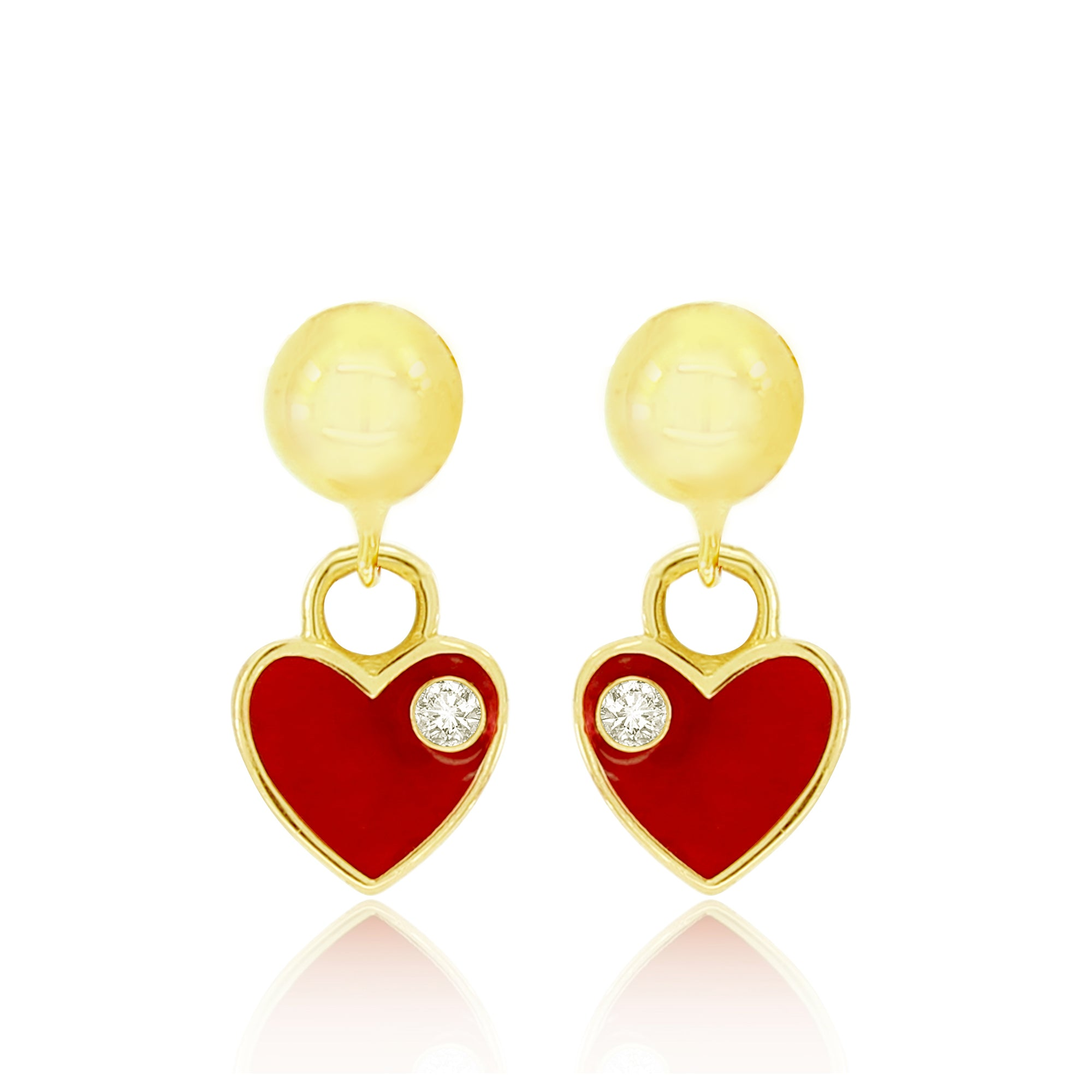 GemStella Classic Love Earrings