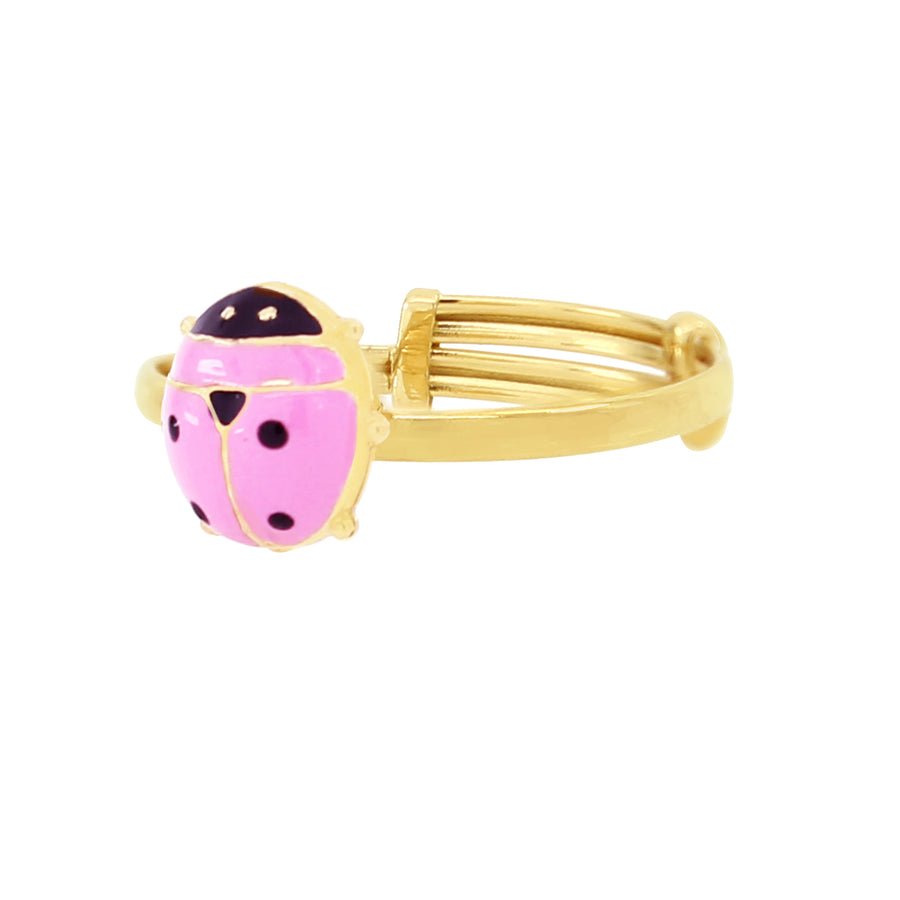 Lady Bug Boss Pink Ring