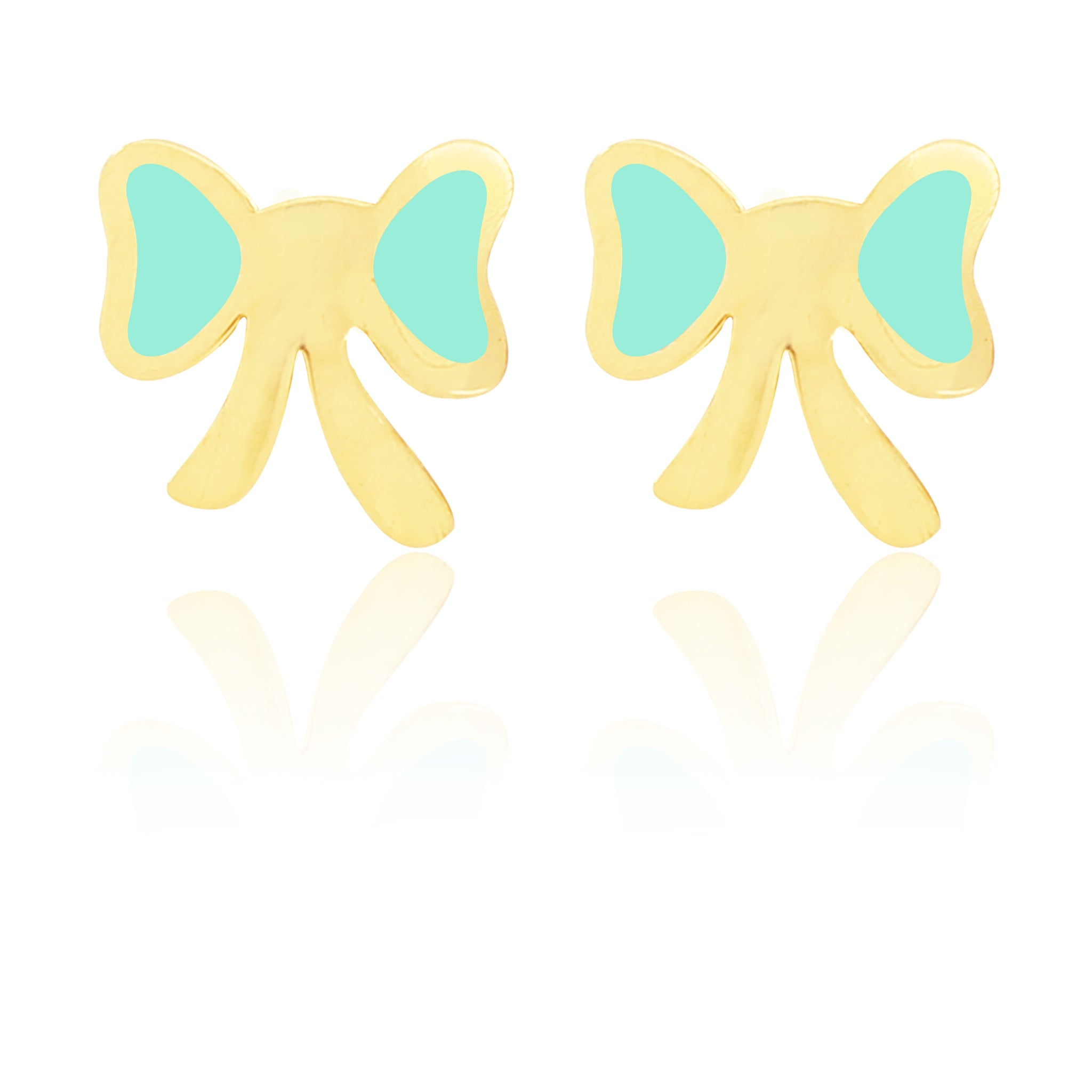 Flutterby Earrings - Green