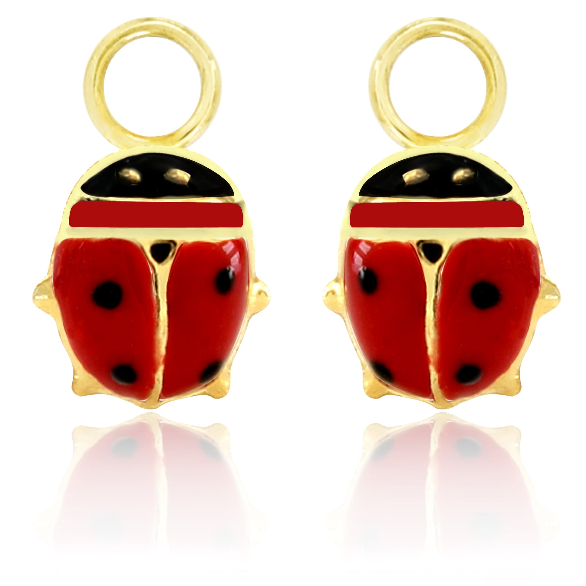 Lady Bug Red Charm