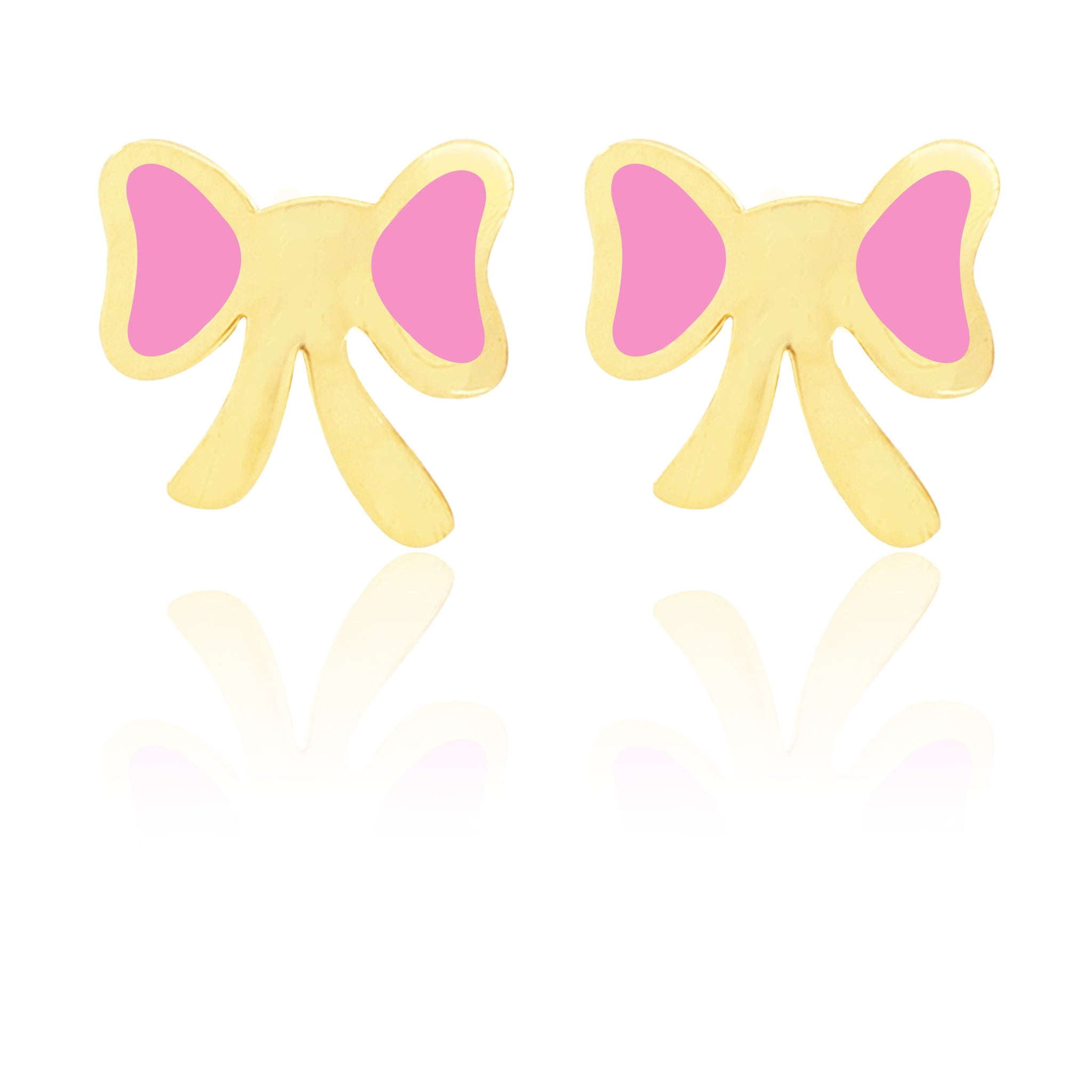 Flutterby Earrings - Pink