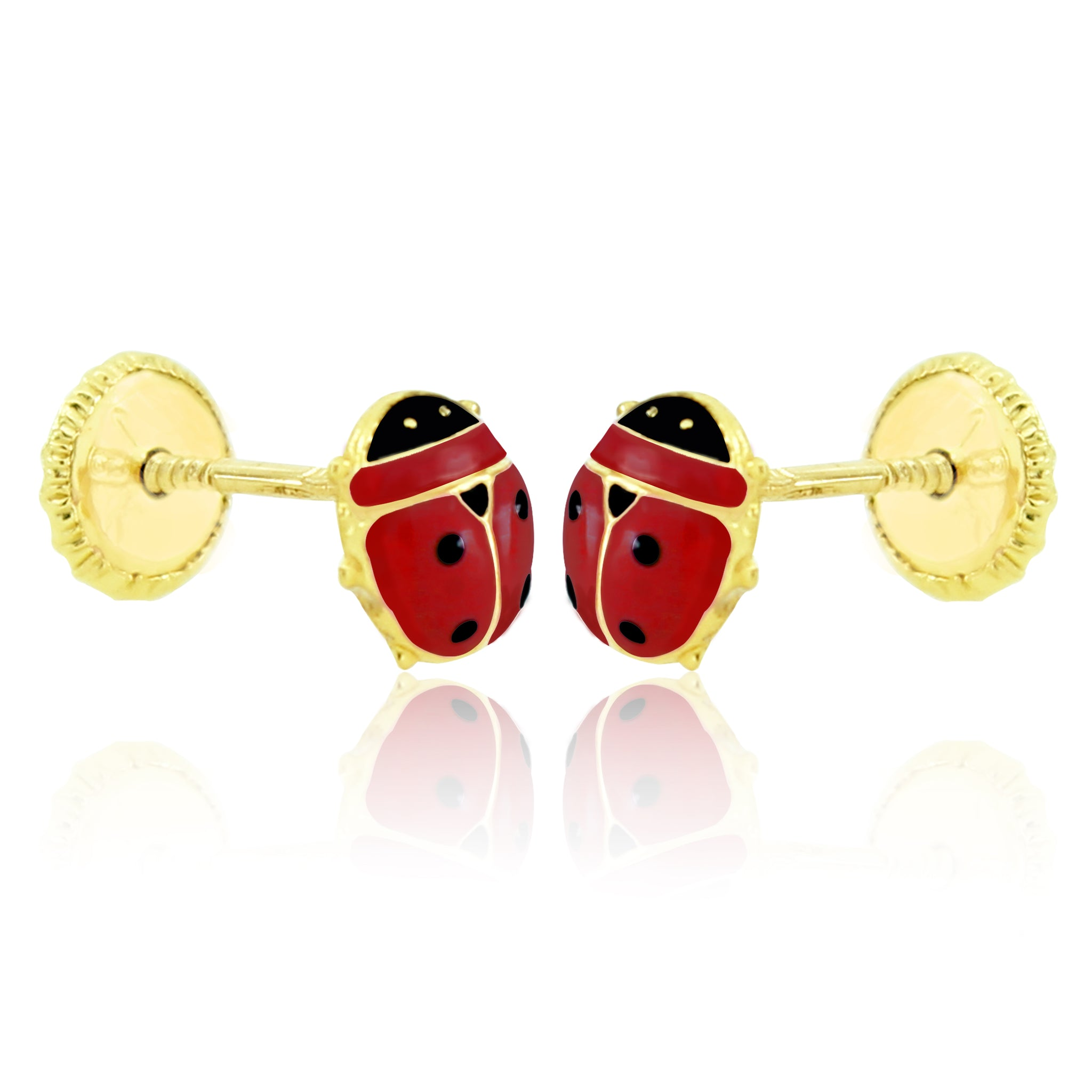 Lady Baby Bug Earrings