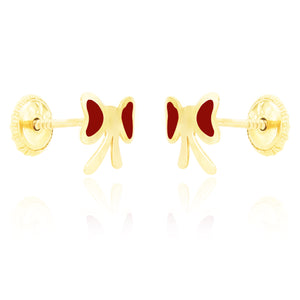Flutterby Earrings - Red