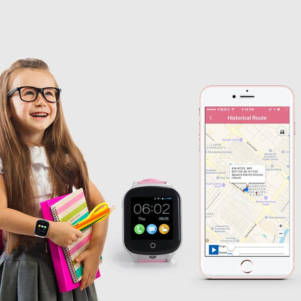 Childrens GPS Watch With SOS Call - Alert Alarms Australia