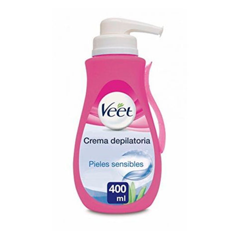 Depileringskräm med dispenser Veet Sensitive 400 ml b5cff4215660b