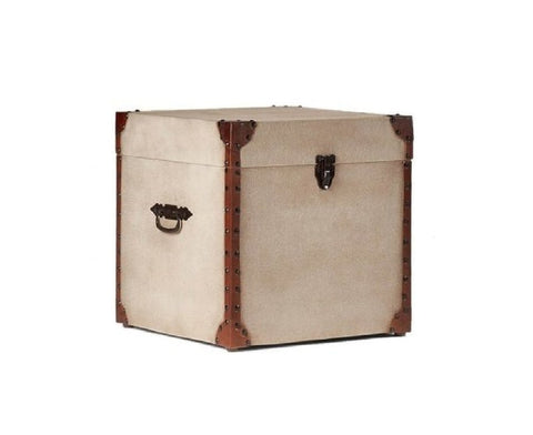 Box Leather Trunk - Vriksh of Life