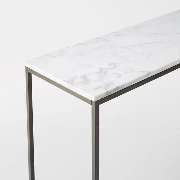 Marble Top Metal Console - Vriksh of Life
