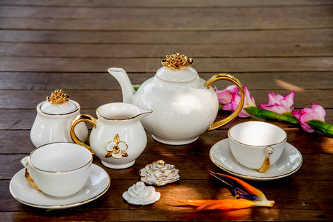 ROSE TEA-SET - Vriksh of Life